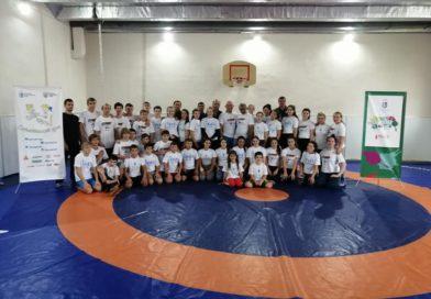 Борець Валерій Андрійцев  провів #OlympicLab  для вихованців Броварського вищого училища фізичної культури