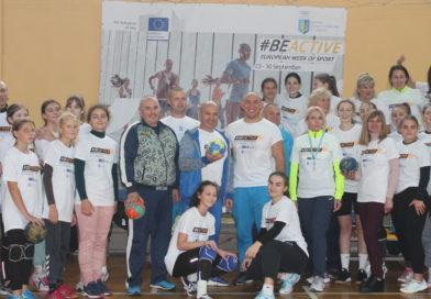 В Броварах пройшов Олімпійський урок з гандболу у рамках Європейського тижня спорту #BeActive